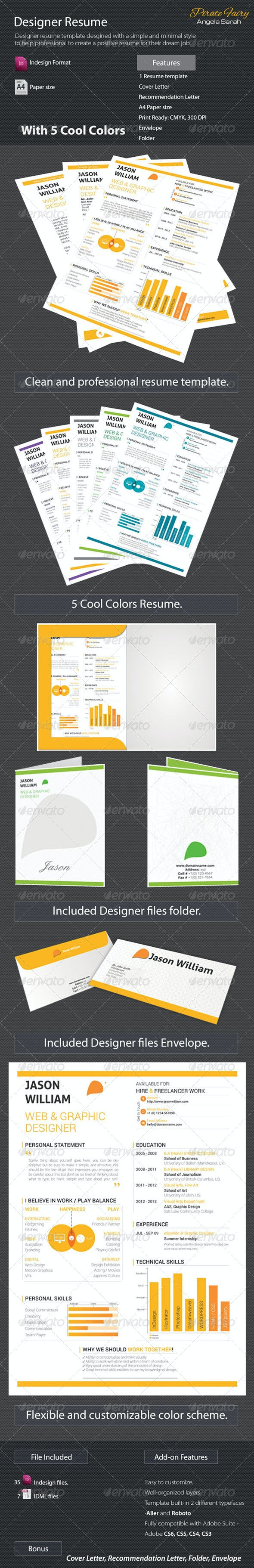 Designer Resume - Resumes Stationery