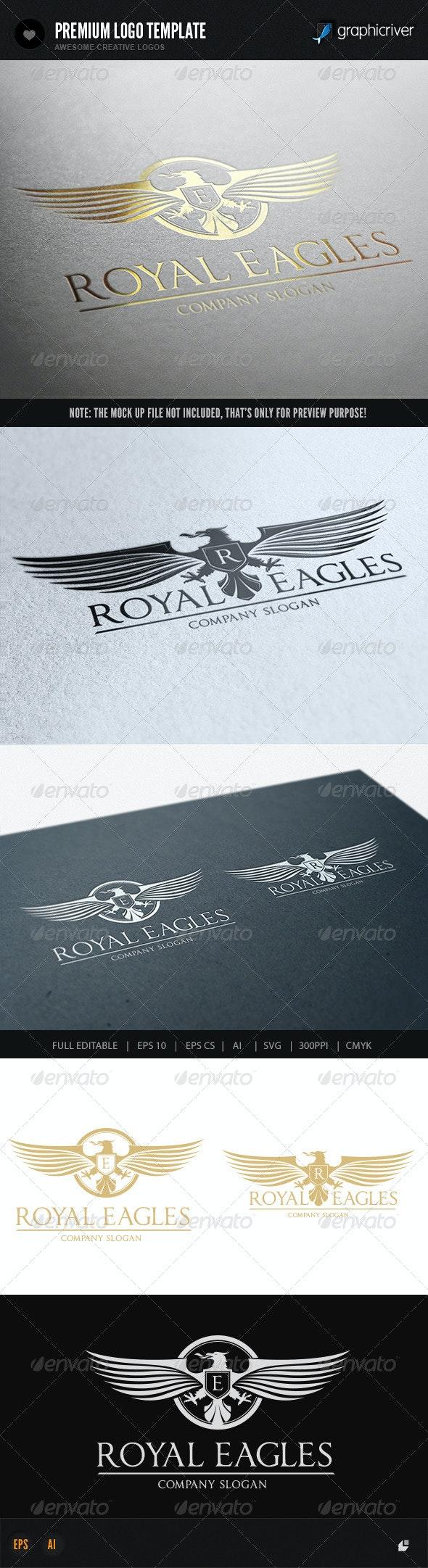 Royal Eagles - Crests Logo Templates
