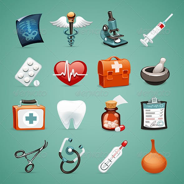 Medical Icons Set 1.1