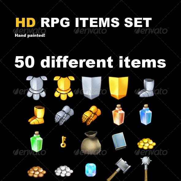 50 HD RPG Items