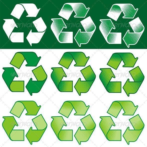 Recycling Symbol - Miscellaneous Vectors