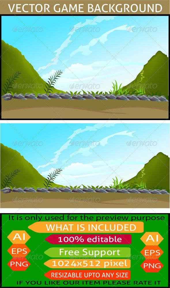 Nature Game Background - Landscapes Nature
