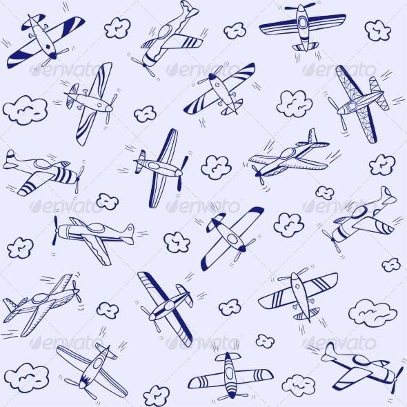 Airplanes Pattern