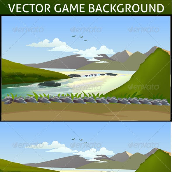 Vector Game Background