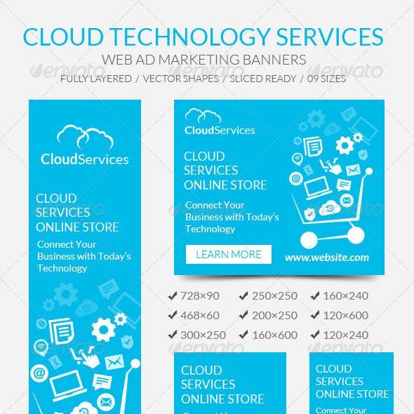 Cloud Technology Banners