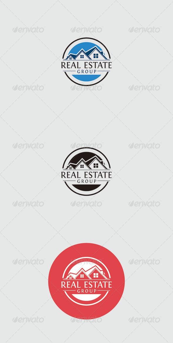 Real Estate Group Logo - Buildings Logo Templates