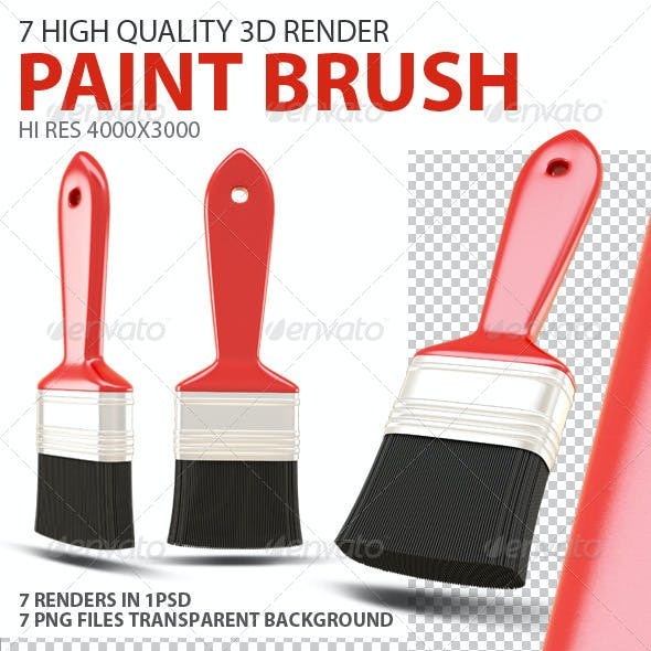Paint Brush 3D