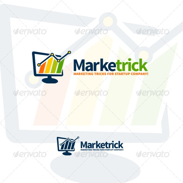 Marketrick - Marketing, Business & Financial Logo