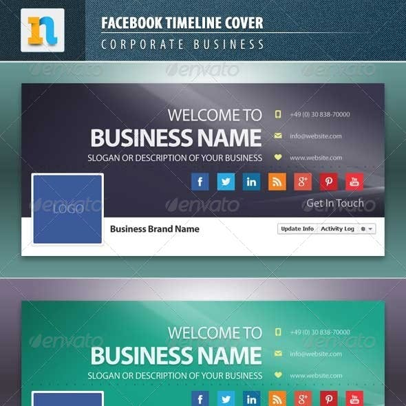 Facebook Timeline Covers Corporate