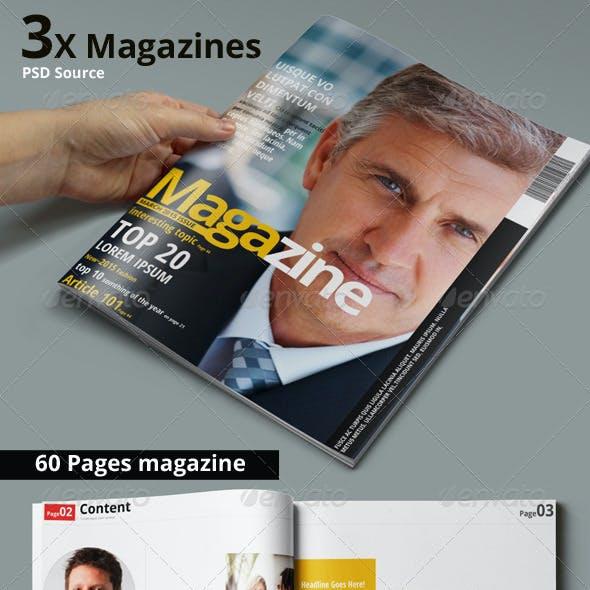 Multipurpose Magazine Bundle - Photoshop PSD