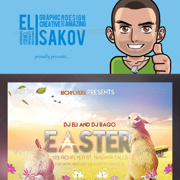 Easter Party - Premium Party Flyer