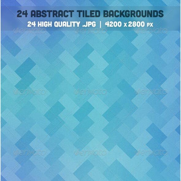 24 Abstract Tiled Backgrounds