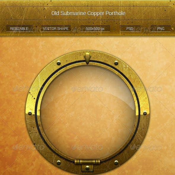 Submarine Copper Porthole