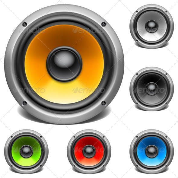Color Audio Speakers