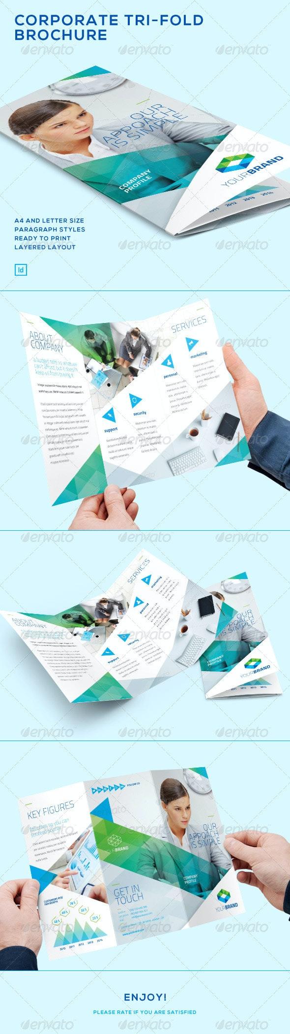 Corporate - Tri-Fold Brochure - Corporate Brochures