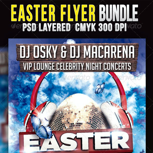 Easter Bundle Flyers