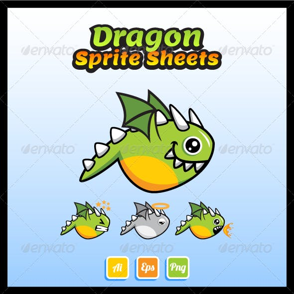 Dragon Sprite Sheets
