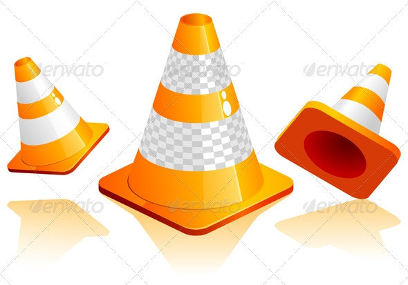Traffic Cone - Man-made Objects Objects