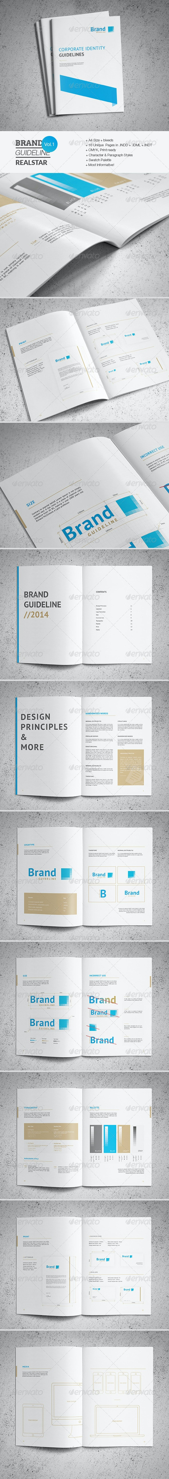Brand Guideline Template - Informational Brochures