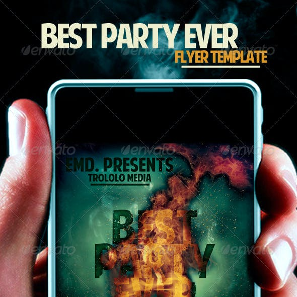 Party Ever Flyer Template