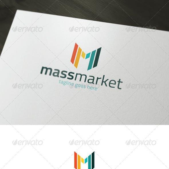 Mass Market Logo — Letter M