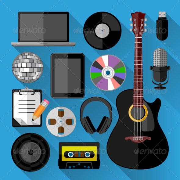 Music Icons - Web Icons
