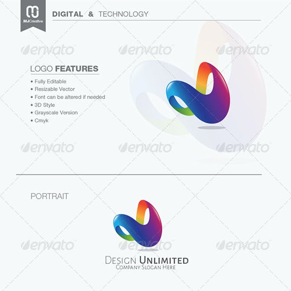 Letter D Templates.Letter D Logo Graphics Designs Templates From Graphicriver