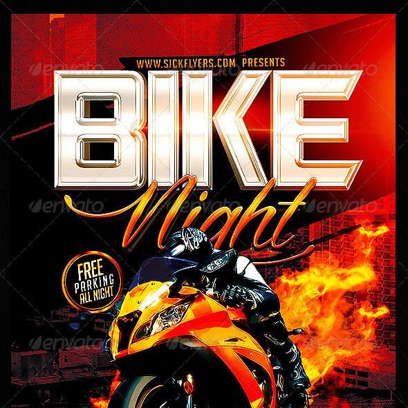 Bike Night Flyer Template