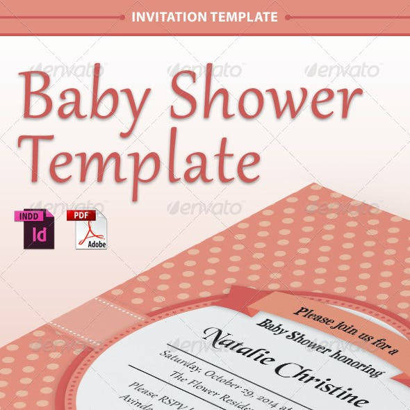 Baby Shower Template - Vol. 1