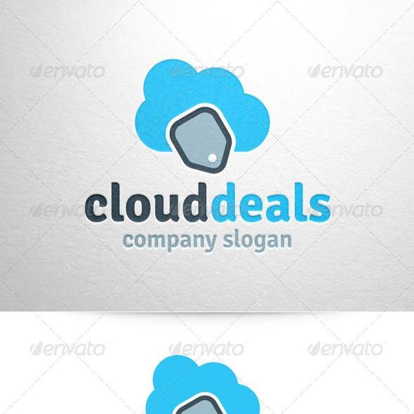 Cloud Sales Logo Template