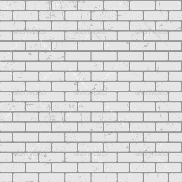 Background of Seamless Brick Wall Texture - Web Technology