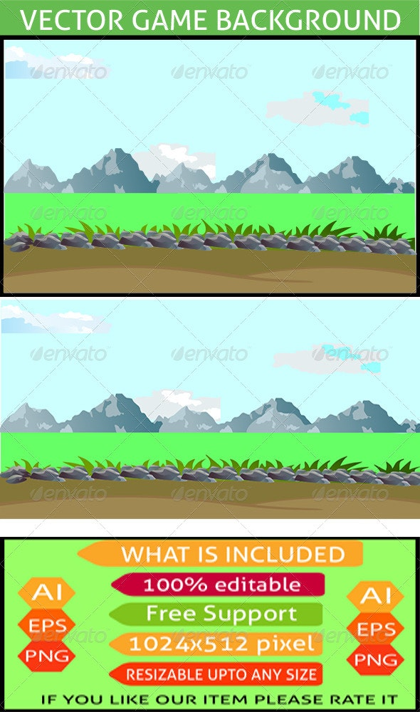 Game Background - Backgrounds Decorative