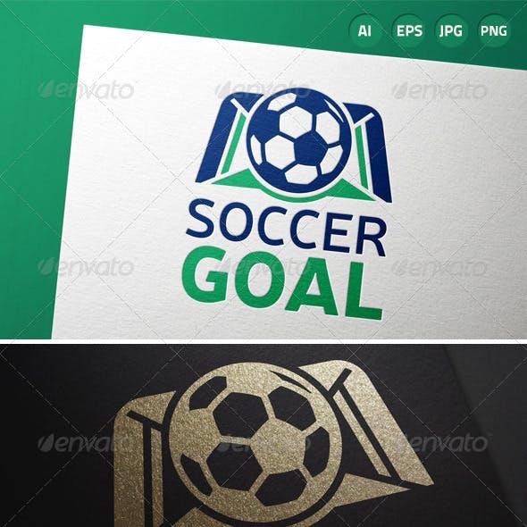 Soccer Goal Logo