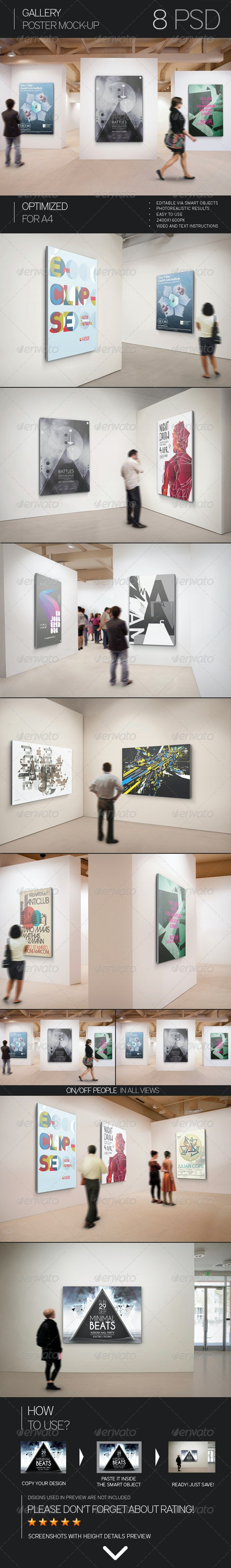 Gallery Poster Mock-Up - Posters Print