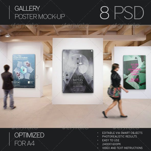 Gallery Poster Mock-Up