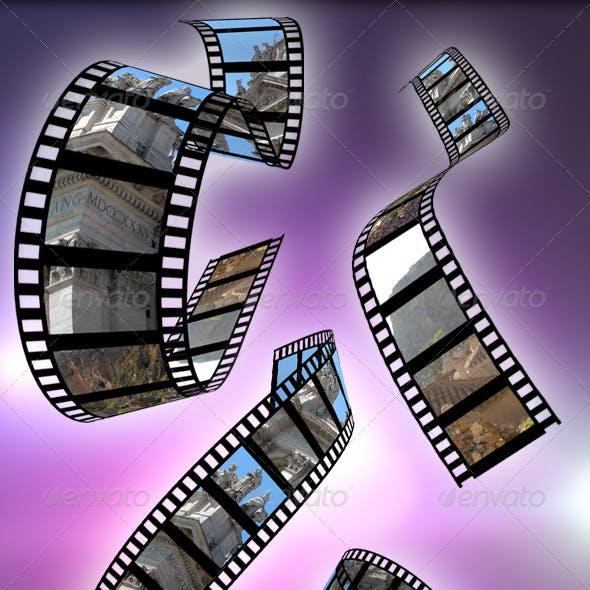 Film Reel Mockup