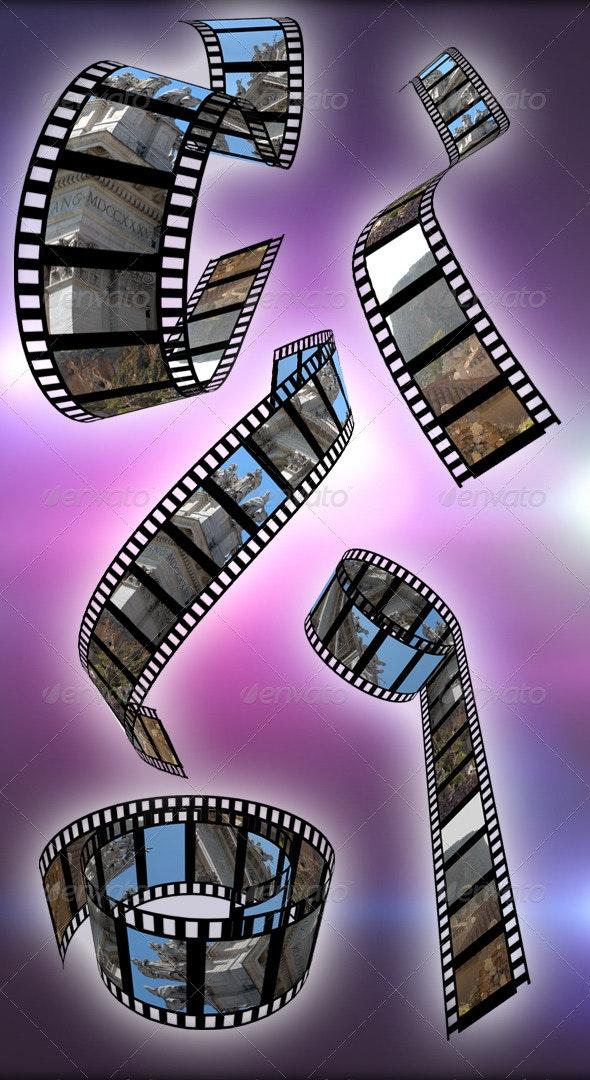 Film Reel Mockup - Miscellaneous Photo Templates