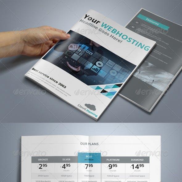 Webhosting Brochure.