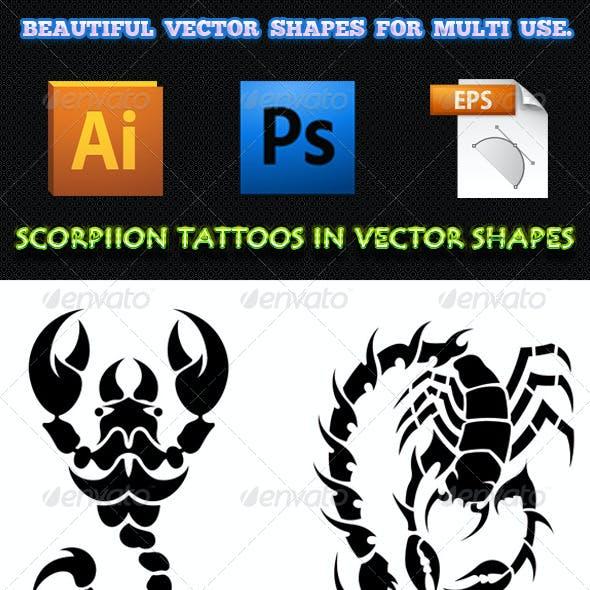 Scorpion Tattoos 01