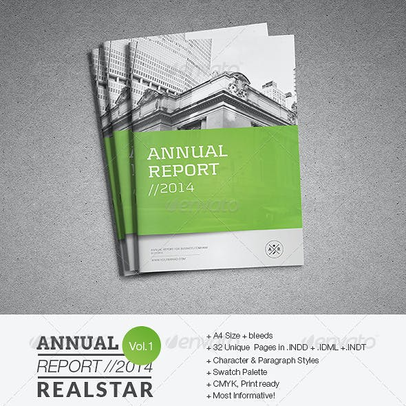 Annual Report Template II