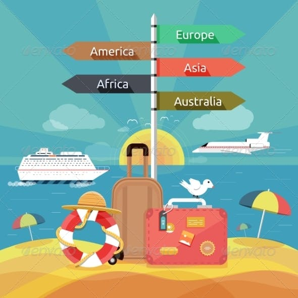 Traveling and Planning a Summer Vacation