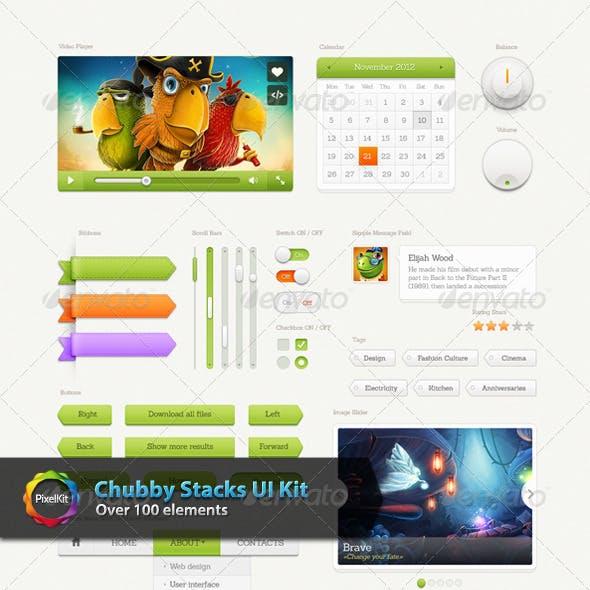 Chubby Stacks UI Kit