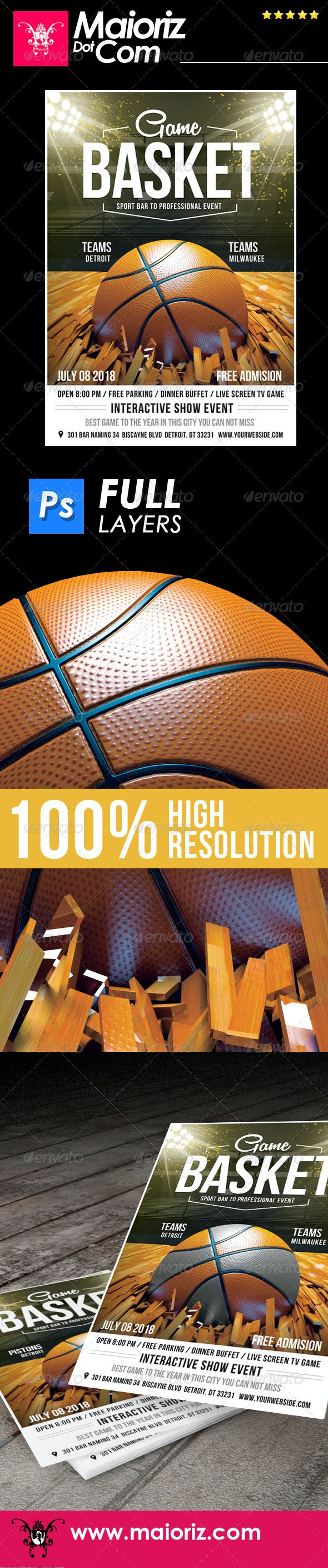 Basketball Event Flyer - Sports Events