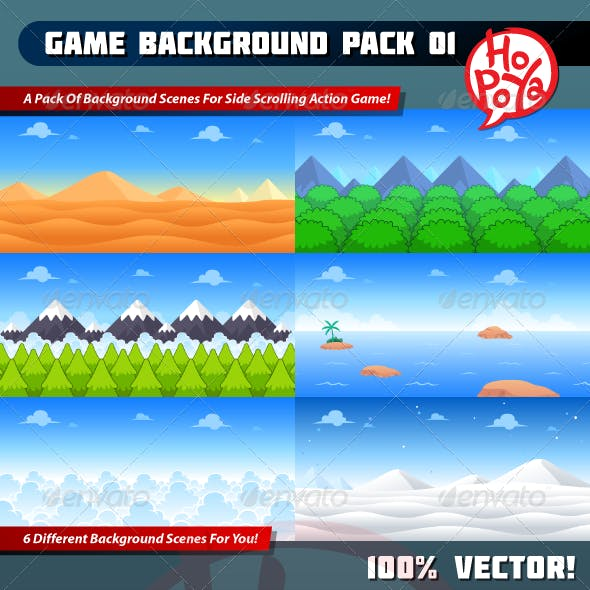 Game Background Pack 01