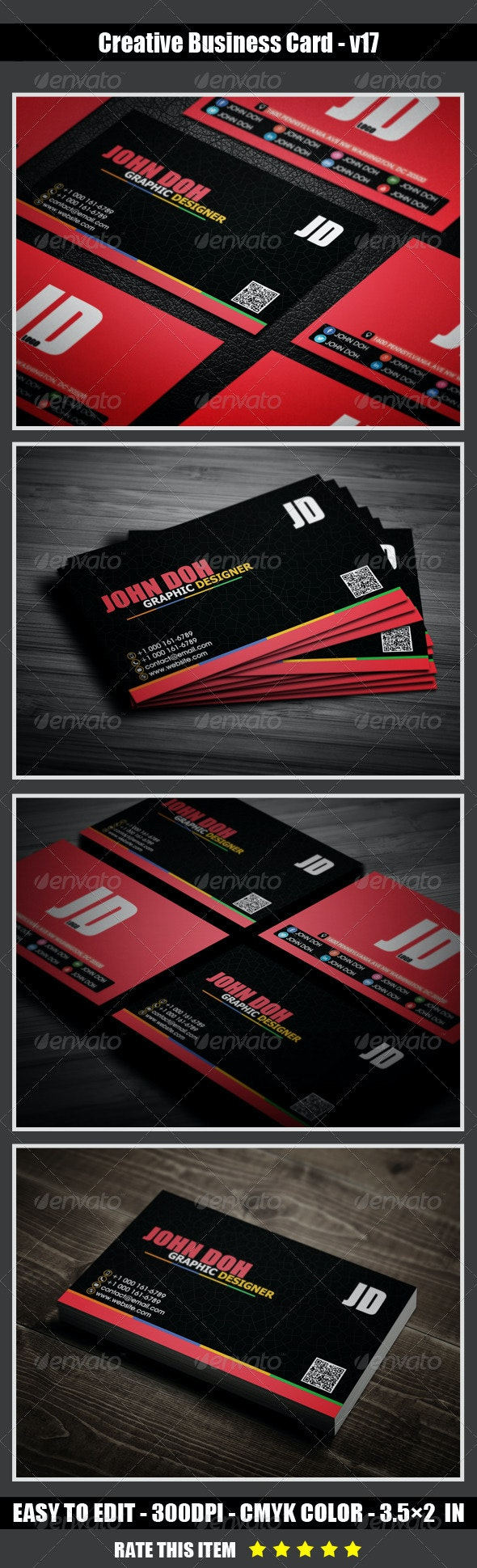 Creative Business Card v17 - Creative Business Cards