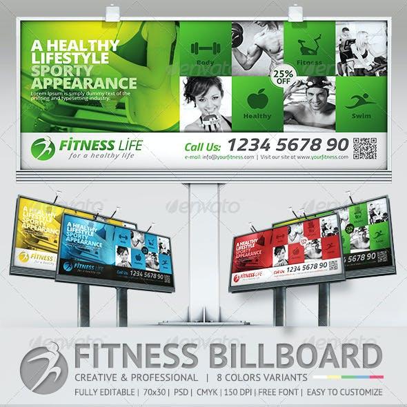 Fitness Billboard