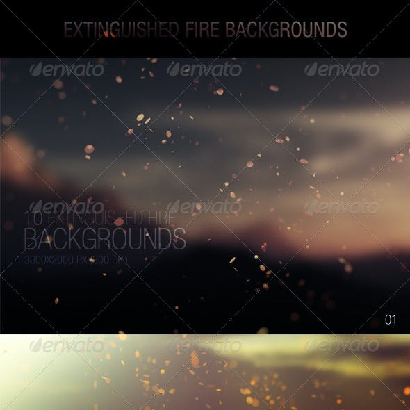 Extinguished Fire Backgrounds