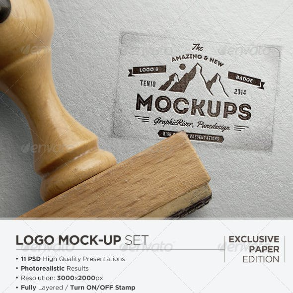 Logo Mock-Up / Exclusive Paper Edition