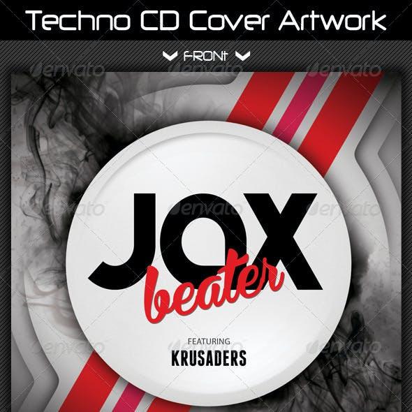 Techno CD Cover Artwork 02