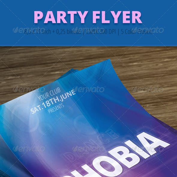 Party Flyer 1